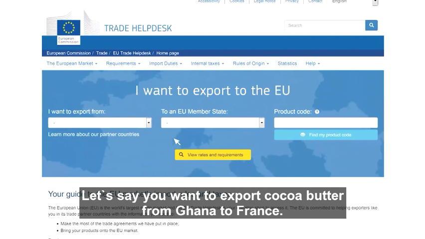 trade website